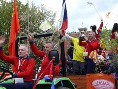 Prvomájové oslavy v Třemošnici.