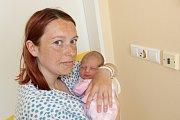 NIKOL VOJTOVÁ (3,1 kg a 48 cm) –  tak se od 7.5. od 12:55 jmenuje první dcera Veroniky a Lukáše Vojtových z Markovic.