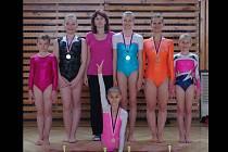 Gymnastky TJ Sokol Chrudim zaznamenaly na přeboru Pardubického a Královehradeckého kraje ve sportovní gymnastice žen ve Vrchlabí několik úspěchů.