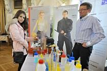 Prezentace Střední průmyslové školy chemické Pardubice.
