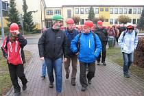 Klub českých turistů Chrudim se vypravil do opatovické elektrárny