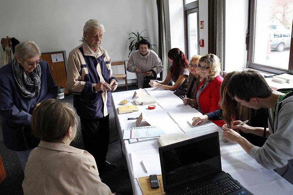 Volby do Poslanecké sněmovny 2013 v Hlinsku.