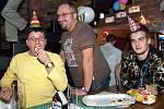 Silvestrovská oslava v Baraka baru v Chrudimi.