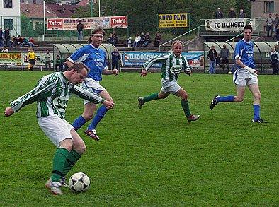 Po roce bude k vidění ve fotbalovém krajském přeboru i derby Hlinsko – Stolany.