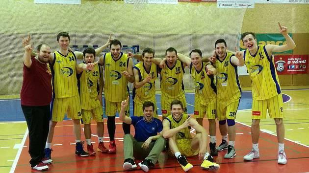 Mistři 2. ligy skupiny B v basketbalu