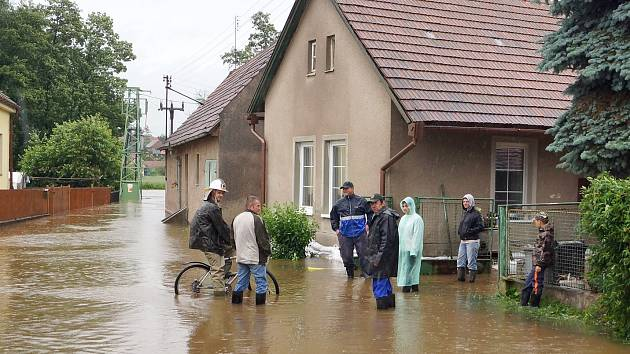 Na Jižní Moravě hrozí povodně