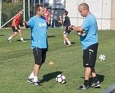 První trénink fotbalistů MFK Chrudim.