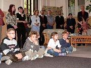 V Rabštejsné Lhotě děti závodily při tradičním posvícenském závodě.