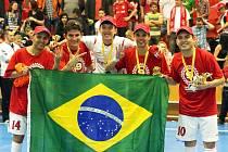 Futsalisté Era-Packu Chrudim slaví devátý titul.
