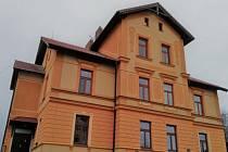 Nejstarší budova Hamzovy léčebny