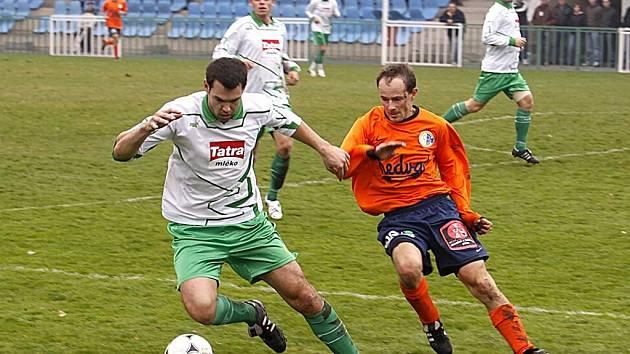 Hlinsko v krajském přeboru nestačilo doma na Moravskou Třebovou a prohrálo 1:2.