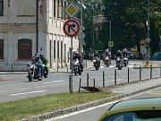 V sobotu ráno poprvé zaburácely motory soutěžních vozidel Rallye Pardubice