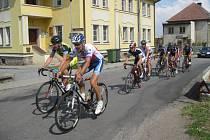 Ze 7. ročníku cyklistického závodu  Velká cena Chaty Polanka.