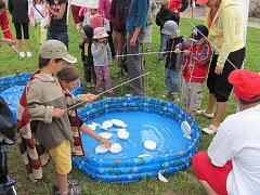 Dětský den  na plovárně ve Slatiňanech.