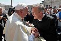 Dvakačovický pastor se setkal s papežem