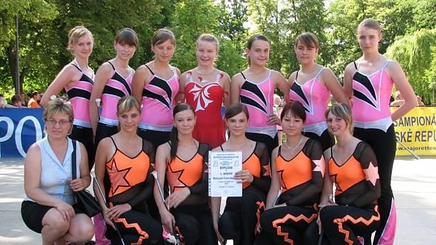 Ronovské mažoretky si zajistily postup do evropské soutěže.