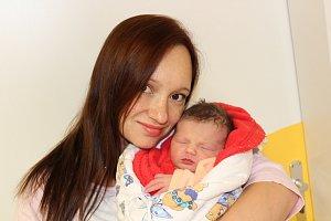 Miminka z chrudimské porodnice 18. listopadu