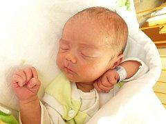 JONÁŠ KYNCL (3,62 kg a 52 cm) se narodil 12.11. v 6:43 v porodnici v Novém Městě na Moravě, bydlet bude ve Svratouchu.