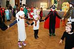 Dětský karneval v Třemošnici.