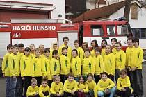 Dětští hasiči v Hlinsku