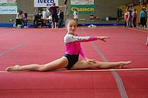 Gymnastka Bára Šimonová