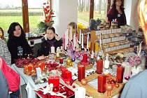 Vánoční výstava v Panské zahradě v Předhradí.