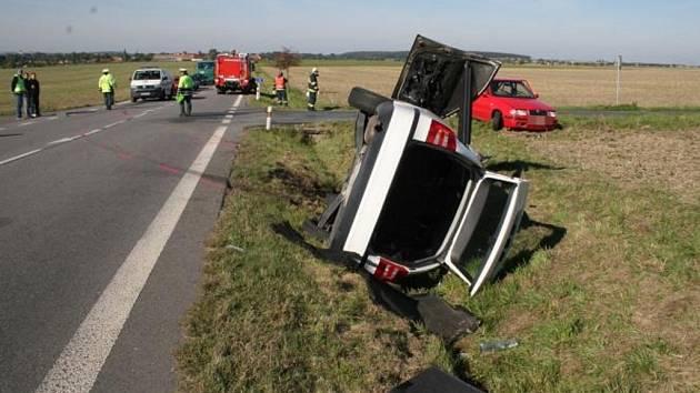 Střet dvou vozidel u Čankovic nepřežil sedmašedesátiletý řidič