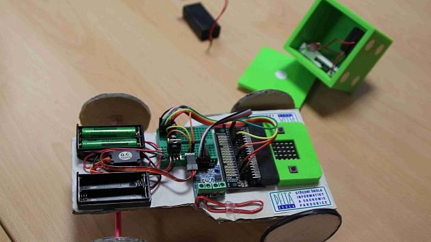 Systém Microbit.