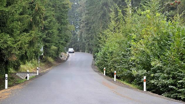 Z Trhové Kamenice do Vršova vede nová silnice