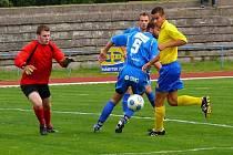 Divizní derby AFK Chrudim - Ústí nad Orlicí skončilo remízou 2:2.