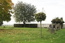 Vojenské pohřebiště na hřbitově Sv. Kříže v Chrudimi.