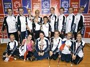 Mažoretková a twirlingová skupina Rondo na Mistrovství Evropy v italském Lignánu