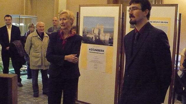 Vernisáž výstavy Košumberk – znovuobjevené poklady.