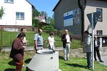 Zahájení výstavby odkanalizování svazku obcí Hamry, Studnice a Vortová.