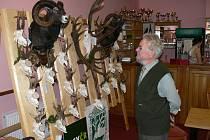 Chovatelská výstava trofejí za rok 2015 v Nasavrkách.