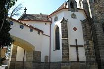 Kostel sv. Martina ve Slatiňanech.