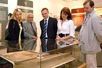 Codex gigas - menší obdoba Klementinské výstavy zavítala do Chrasti.