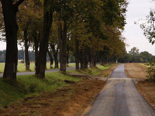 Cyklostezka z Hlinska na Čertovinu získává obrysy.