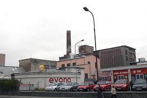 Chrudimská textilka Evona