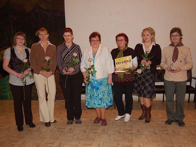 V Hlinsku byly předány ceny Křesadlo 2010 za dobrovolnickou činnost.