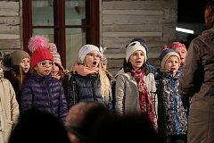 Mikulášsko vánoční jarmark v Hlinsku.