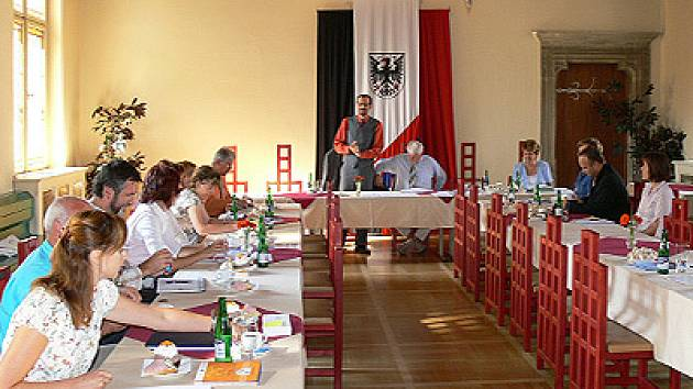 Schůzka zástupců venných měst v Chrudimi.