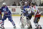 Z hokejového utkání  I. ligy HC Chrudim - V KLH Chomutov 3:1.
