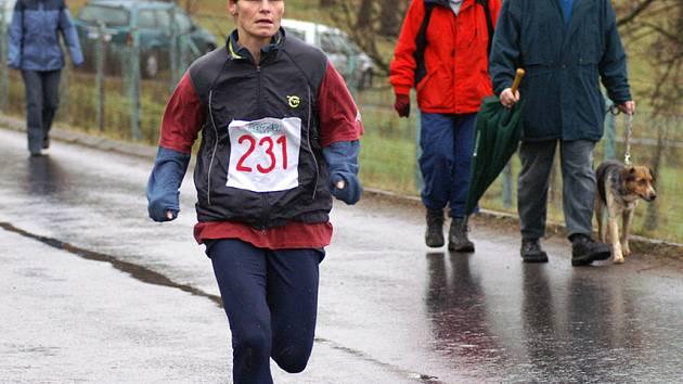 Nejlepší mezi ženami v běhu na 10 km Anna Krátká.