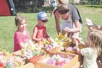 Selské trhy na rodinné farmě Zítkových.