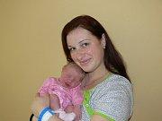 AMÁLIE KUDRNÁČOVÁ (3,65 kg a 53 cm) je od 20.1. od 18:29 prvorozenou dcerou Terezy a Martina z Hrochova Týnce.