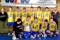 Vítězný tým AFK Chrudim.