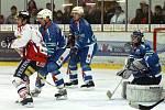 Z hokejového utkání I. ligy HC Chrudim - Benešov 4:2.