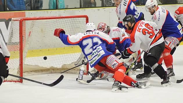 První krok v cestě za titulem chrudimští hokejisté zvládli bravurně.