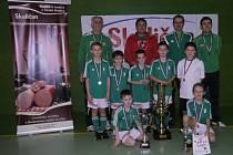 Hlinecká přípravka zvítězila na turnaji v Jaroměři